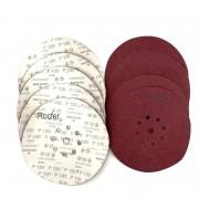 Discos de Lixa 225mm Grão 120 C/ 10 Unidades Makita kit16083