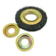 """Escova Circular Aço Carbono 4.1/2 x 1/2 x 7/8"""" Brusteel"""