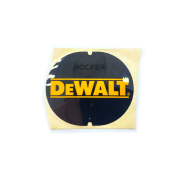Etiqueta da Tampa Traseira p/ Serra Circular DW358 Dewalt 149521-01