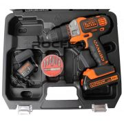 Furadeira Parafusadeira Matrix Básica + Maleta + Bateria 1,5Ah + Carregador Bivolt