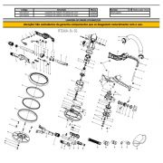Induzido 127V P/ Lixadeira LPV1000 Vonder 9309100147
