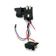 Interruptor c/ Conector da Bateria p/ Chave de Impacto G12201 GAMMA PRG12201/BR-019
