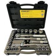 Jogo De Soquete 1/2 8-32mm 22 Pçs Stmt81242-840 Stanley