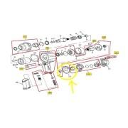 Junta Traseira 97-134 LA Chave Impacto 97-134 ATSV36123