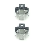Kit 02 Porta Escovas de Carvão p/ Esmerilhadeira G720 Black e Decker