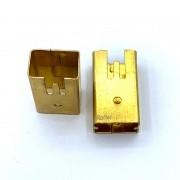 Kit 2 Bronze Porta Escova P/ Martelete Rotativo G1951 Gamma Kit16378