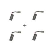 Kit 2 Pares de Escovas de Carvão 220v G1000 Black E Decker 5140104-35