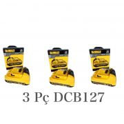 KIT 3UN Bateria 12V Li-Ion DeWALT DCB127 2Ah DeWALT N365396