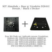 KIT ALMOFADA + BASE P/ LIXADEIRA D26441 Dw411