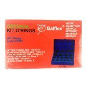 Kit Anéis Orings De Borracha Em Milímetros P/ Vedação  Balflex 407AS568  407 Peças