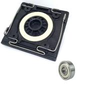 Kit Base + Rolamento 608Zrs p/ Lixadeira QS800 Black e Decker