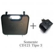 Kit Bateria CD121 Tipo3 + Maleta Black e Decker.