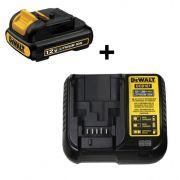 Kit Carregador DCB107-BR + Bateria DCB120 DeWalt