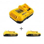 Kit Carregador DCB118 220V e 2 Baterias 20V DCB203