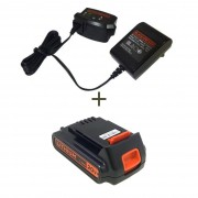 KIT Carregador e Bateria 20v Matrix LD120 Black e Decker