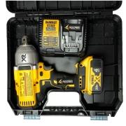 KIT Chave De Impacto 3/4 + Bateria 4 AH + Carregador 4AH 20v Li-ion Max Dcf897b + DCB204 + DCB115 Bivot