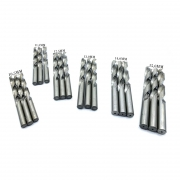 Kit Com 18 Brocas Aço Rápido 11,5mm 10,5mm 12,5mm 13,0mm 14,0mm 15,0mm Dewalt
