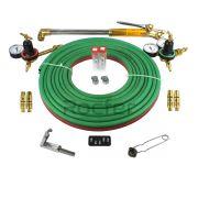 Kit Completo Oxigênio GLP 45KG p/ Corte, Maçarico Reguladores e Acessórios Rocfer