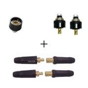 Kit Conector De Solda E Som, Iluminação p/ Cabo de 10 a 25mm