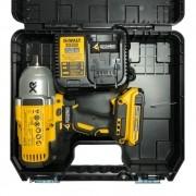KIT DCF899 Chave de Impacto + DCB203 + DCB115 Bivolt + Maleta Dewalt Original