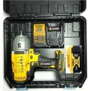 Kit Dcf899 Chave De Impacto + Dcb205 + Dcb115 Bivolt Dewalt