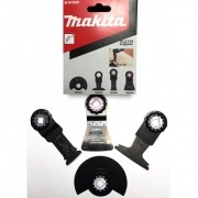 Kit de lâminas e placa de lixa para multicortadora B-67505 Makita Original