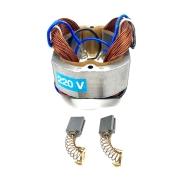 Kit Estator 220V + 02 Escovas de Carvão p/ Serra Esquadraria G2354 GAMMA