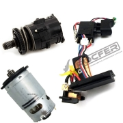 Kit Motor + Transmissão + Interruptor p/ Parafusadeira DCD771 Dewalt