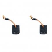 Kit Par Escovas C/ Cut Off 127V P/ Esmerilhadeira Angular DWE4212 Dewalt 1200W