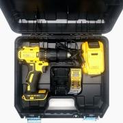 Kit Parafusadeira de Impacto 20V DCD7781L1-BR + Bateria 3Ah + Carregador + Maleta Dewalt