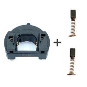 Kit Porta Escova  127v + Par de Escovas RT18 Microretifica Black e Decker: