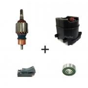 KIT Rotor 220v + Estator, Gatilho e Rolamento p/ D25901 -B2 Martelo Dewalt
