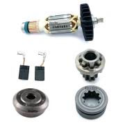 Kit Tampa + Rotor 220V + Came + Par de Esovas de Carvão + Engrenagem Makita