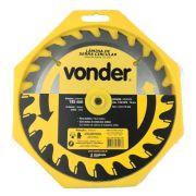 Disco de Serra P/ Madeira Vonder 185 x 16 mm 24 Dentes