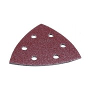 Lixa Triangular Makita 6Furos C/ Velcro 93mm G80 c/10 D-58590