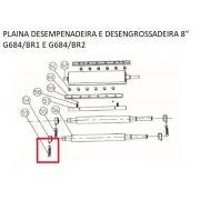Mola Tensora Do Rolo Alimentador De Madeira P/ Plaina G684 PRG684/BR-053