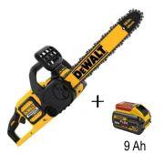 Motosserra 60v + Bateria 9 Ah Amperes Flexvolt Max Dewalt Dccs670b + DCB609