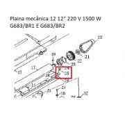 Parafuso Faca P/ Plaina Mecânica G683 Gamma PRG683/BR-025