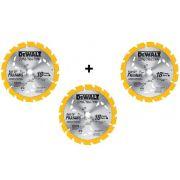 RocKit 3 Unidades Disco De Serra Widea 7.1/4 18 Dentes Madeira Dewalt Dw3192
