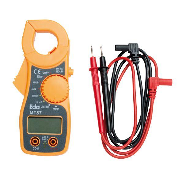 Alicate Amperimetro Digital Mt87 Ac/Dc Eda 9Ke