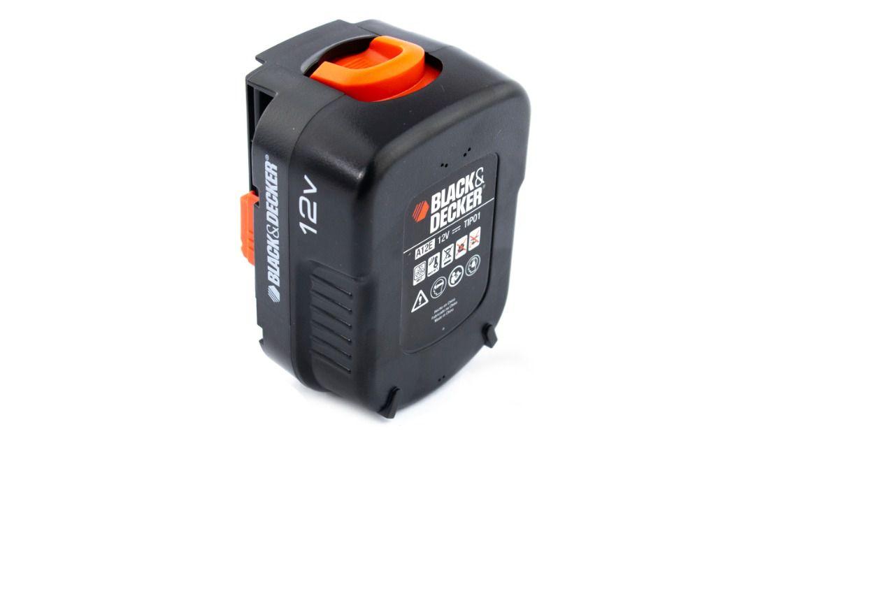 Bateria 12v P/ Furadeira/Parafusadeira GC1200 Black+Decker 90551507
