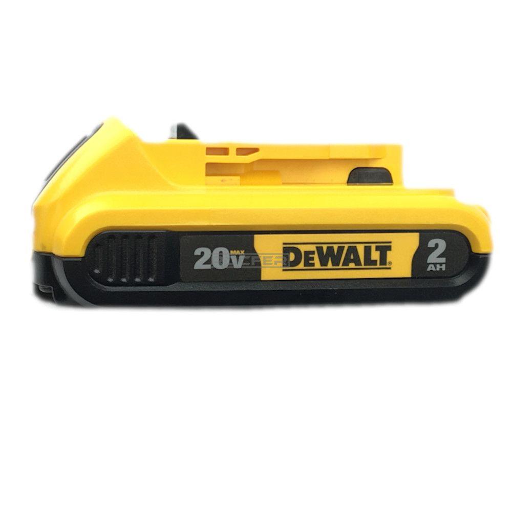 Bateria 20V 2Ah Íons De Lítio XR Duração Prolongada DCB203 Dewalt