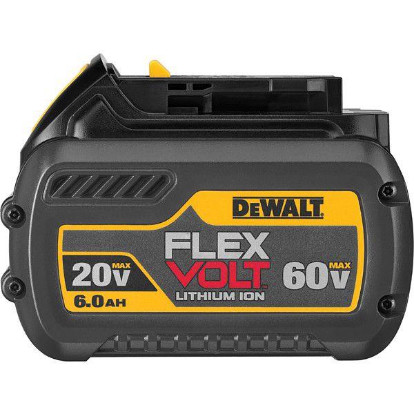 Bateria Íons De Lítio 20v 60v 6ah Flexvolt Dcb606 DeWALT DCB606-B3