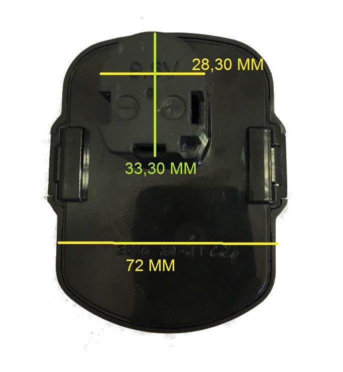 Bateria Original P/ Parafusadeira CD961-br T3 Black+Decker 5140111-95