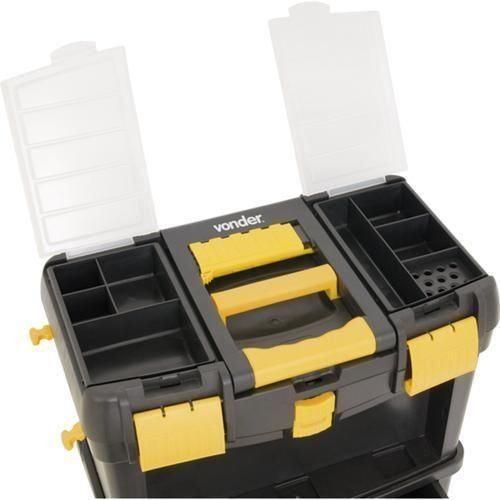 Caixa Plástica Para Ferramentas C/ Rodas CRV 0100 Vonder