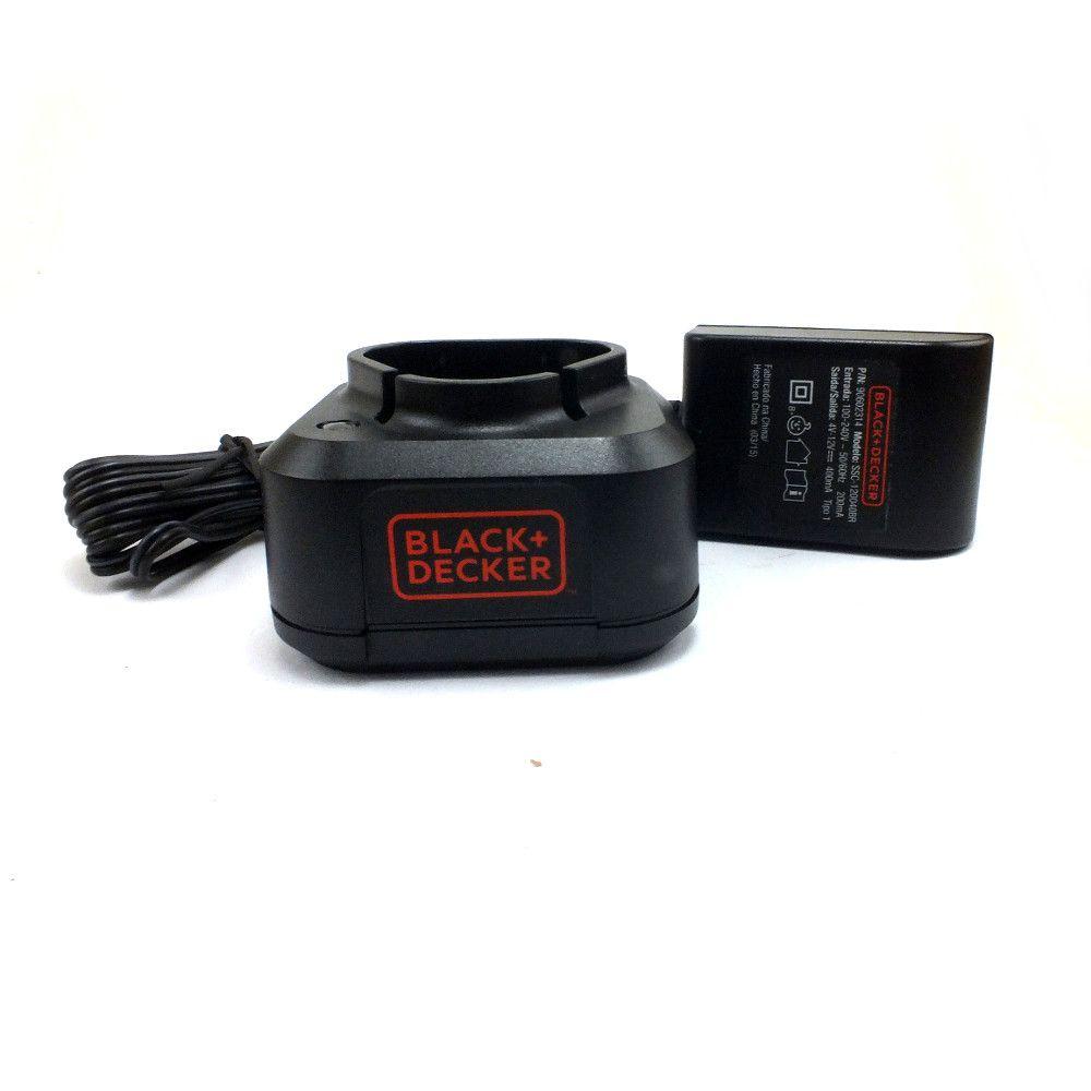 Carregador Bivolt Parafusadeira LD112 Black+Decker 90602314-01