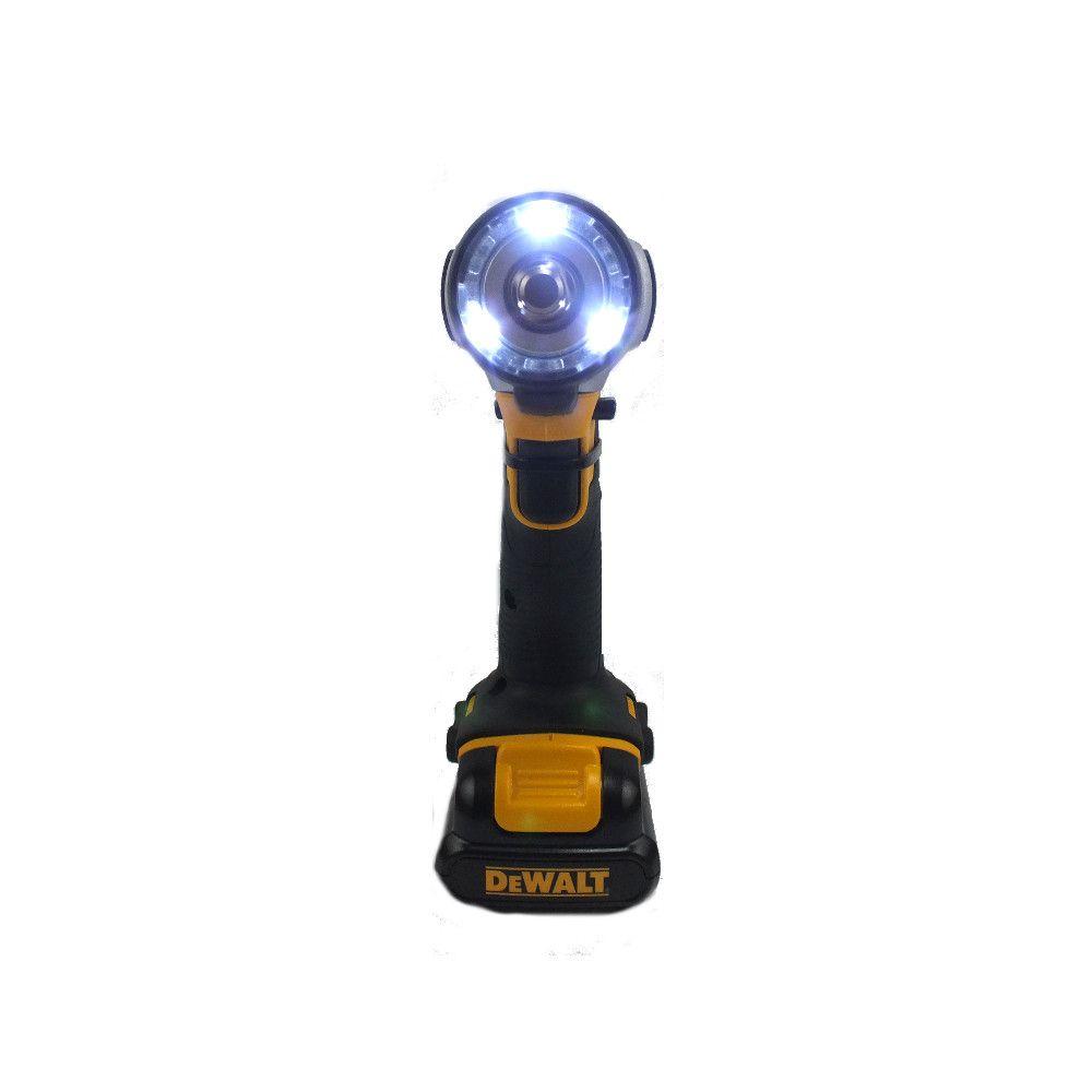 """Chave de Impacto Bateria 3/8"""" 12 V Dcf813S2 Dewalt Bivolt"""