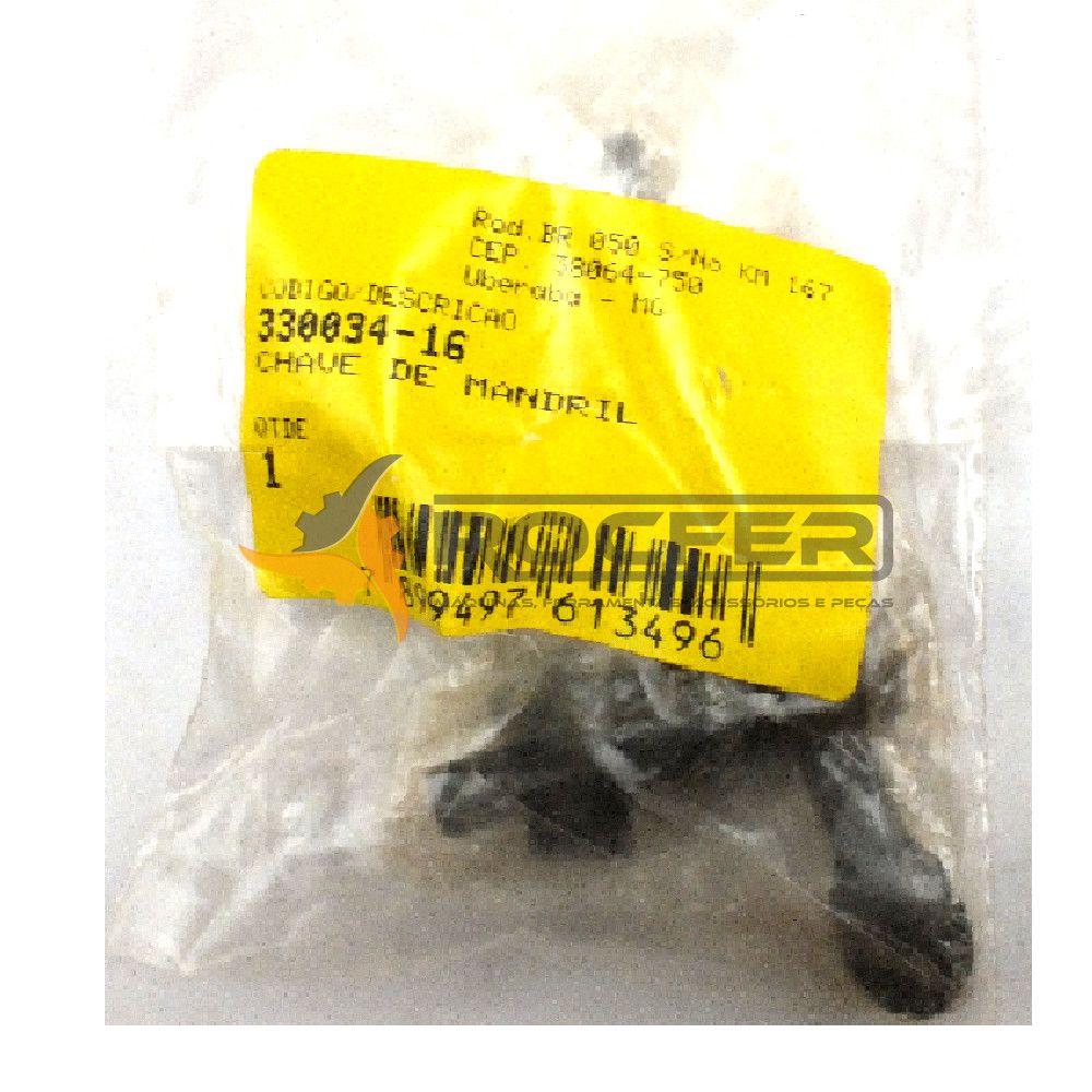 Chave de Mandril DeWALT p/ DW245-B2 - T2 Cod: 330034-16
