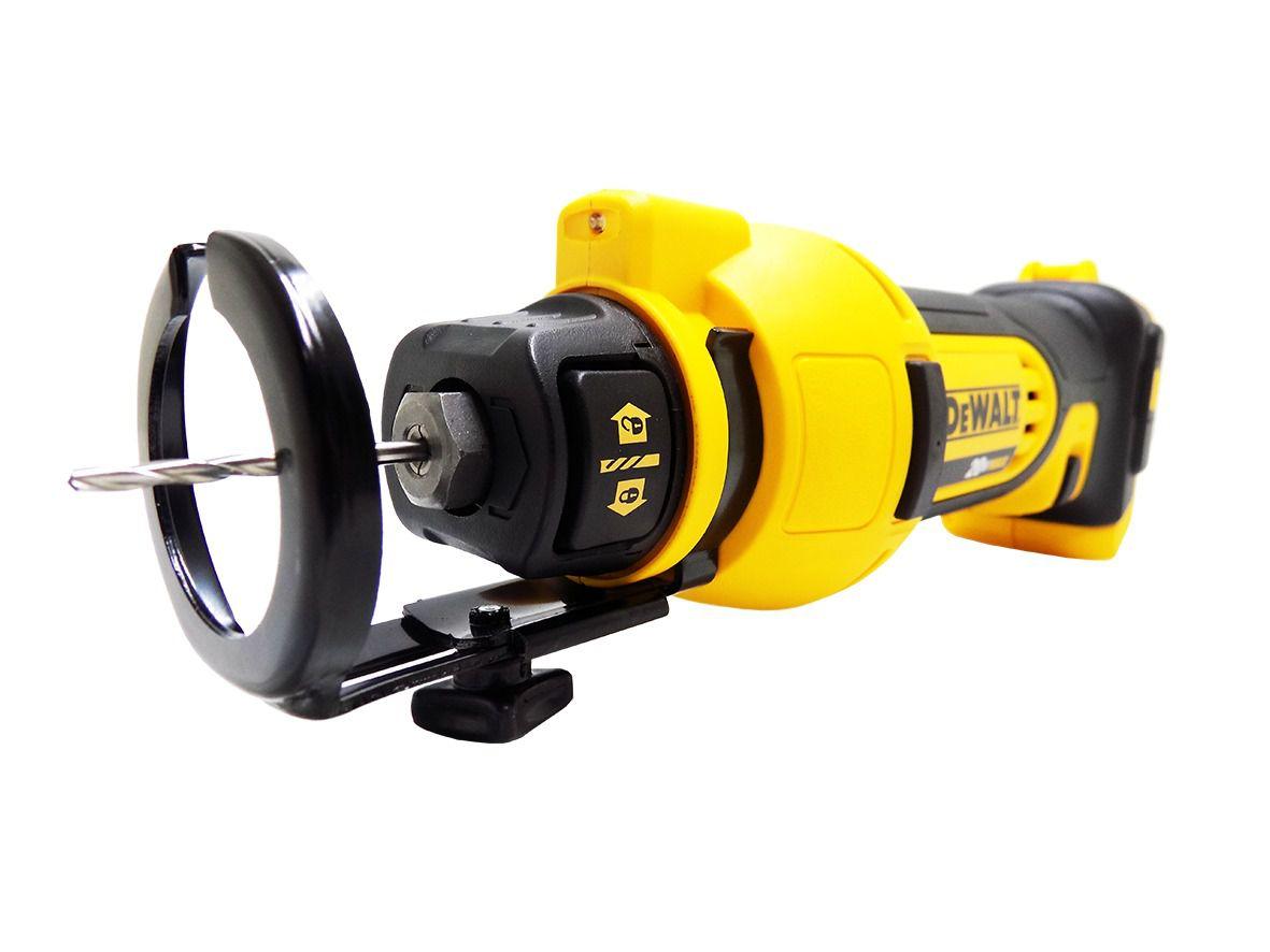 Cortador De Gesso Drywal 20v A Bateria Dewalt Dcs551B-B3