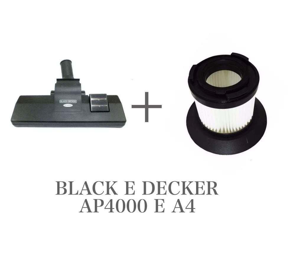 Escova Bocal + Filtro Hepa P/ Aspirador Ap4000 Black & Decker